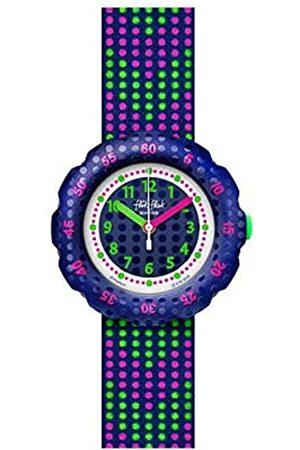 Flik Flak Girl's Analogue Quartz Watch with Plastic Strap FPSP037