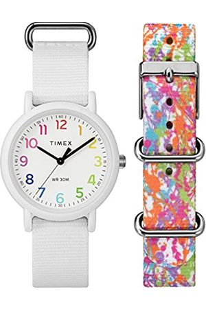 Timex Weekender Colour Rush Dial with a Nylon Strap Watch TWG018200