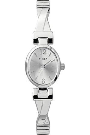 Timex Women's Fashion Stretch Bangle 21 mm Expansion Band Watch TW2U12200