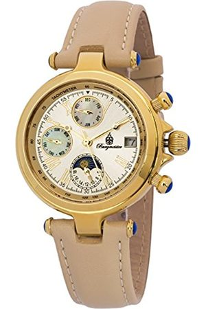 Burgmeister Women's Automatic Watch with Dial Analogue Display and Leather Bracelet BM216-290