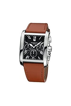 Raymond Weil Men's Automatic Watch with Dial Analogue Display and Leather Strap 4875-STC-00209