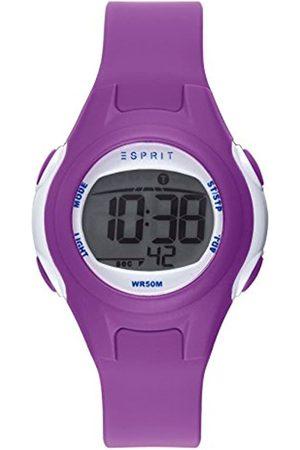 Esprit Unisex-Child Digital Quartz Watch with PU Strap ES906474001