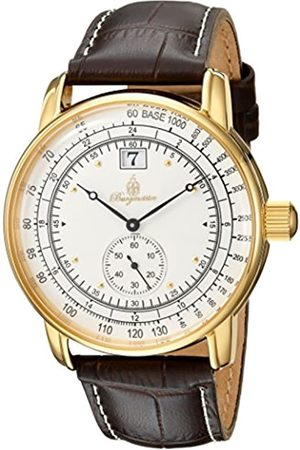 Burgmeister Men's Analogue Quartz Watch with Leather Strap BM333-285