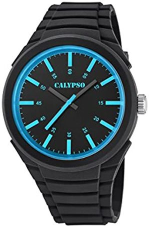Calypso Mens Analogue Classic Quartz Watch with Plastic Strap K5725/3