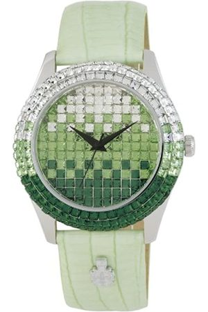 Burgmeister Rainbow Women's Quartz Watch with Dial Analogue Display and Leather Strap BMY01-190