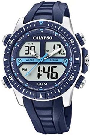 Calypso watches Mens Analogue-Digital Quartz Watch with Plastic Strap K5773/2