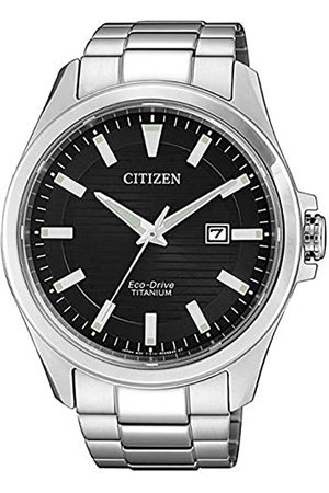 Citizen Men's Analogue Quartz Watch with Titanium Strap BM7470-84E