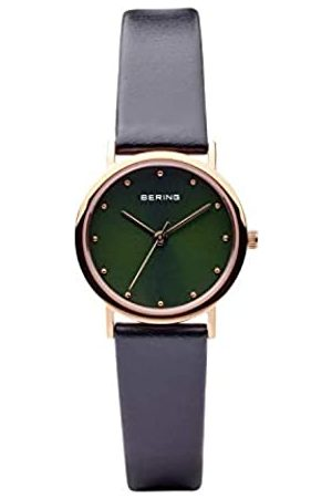 Bering Womens Analogue Quartz Watch with Leather Strap 13426-469