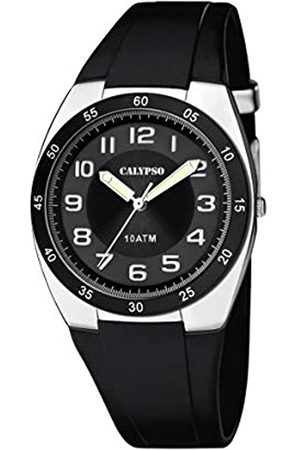 Calypso Mens Analogue Quartz Watch with Plastic Strap K5753/6