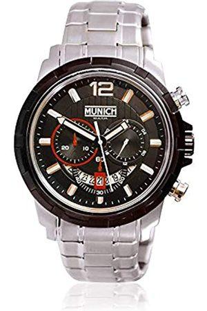 Munich Unisex Adult Analogue Quartz Watch with Stainless Steel Strap MU+105.1C