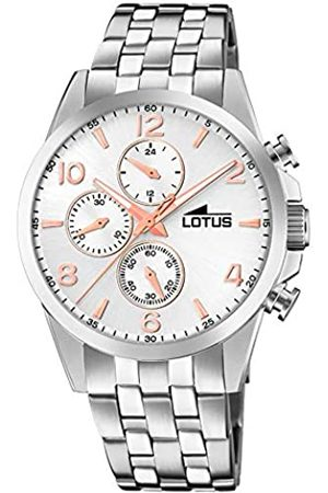 Lotus Mens Chronograph Quartz Watch with Stainless Steel Strap 18629/1