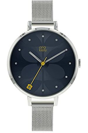 Orla Kiely Womens Analogue Classic Quartz Watch with Stainless Steel Strap OK4061