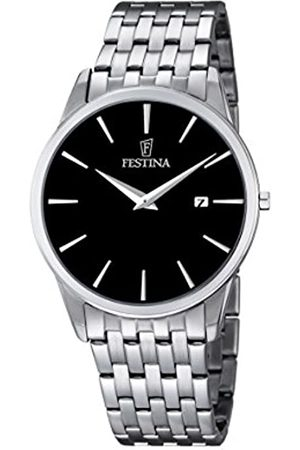 Festina Men's Quartz Watch with Dial Analogue Display and Stainless Steel Bracelet F6833/2