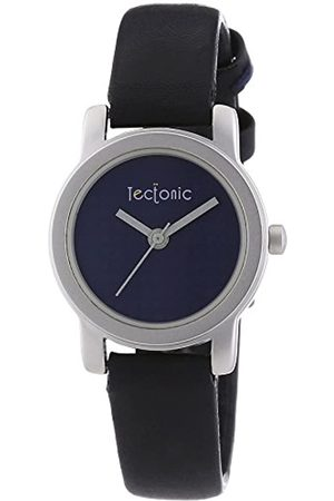 Tectonic Women's Quartz Watch with Dial Analogue Display and Leather Strap 41-1108-99