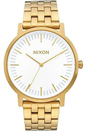 Nixon Unisex Adult Analogue Quartz Watch with Stainless Steel Strap A1057-2443-00