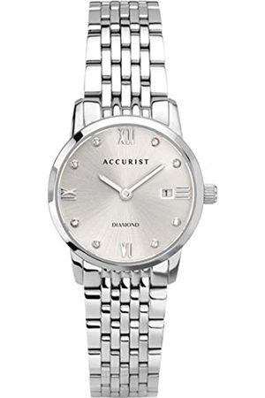 Accurist Women's Analogue Japanese Quartz Watch with Stainless Steel Strap 8352
