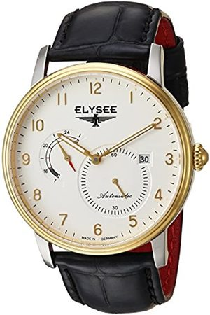 ELYSEE Unisex Adult Analogue Automatic Watch with Leather Strap 77016.0