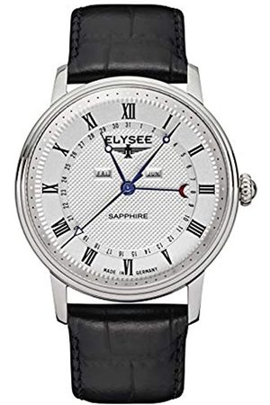 ELYSEE Unisex Adult Analogue Quartz Watch with Leather Strap 77000L