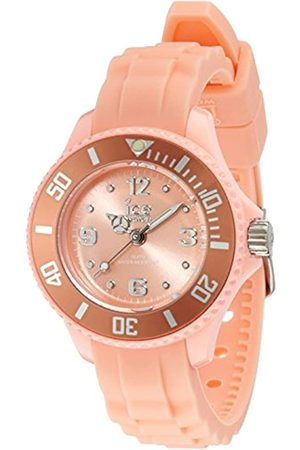 Ice-Watch Ice -Sweety Peach Mini Unisex Watch Analogue Quartz Strap Dial Silicone .S.14 SY.PH M.