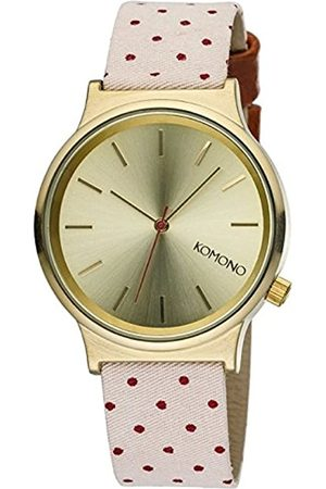 Komono Unisex Quartz Watch with Dial Analogue Display and Leather Strap KOM-W1837