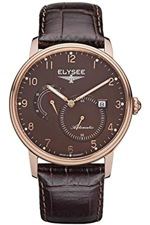 ELYSEE Unisex Adult Analogue Automatic Watch with Leather Strap 77017B