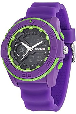 Sector Men's Analog-Digital Quartz Watch with PU Strap R3251197043