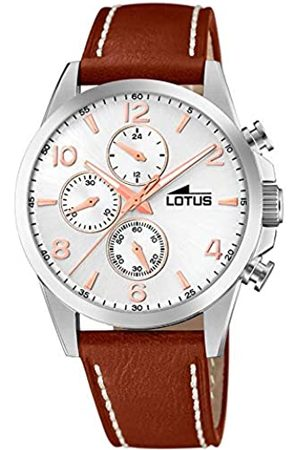 Lotus Mens Chronograph Quartz Watch with Leather Strap 18630/1