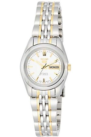 Seiko Womens Analogue Automatic Watch with Stainless Steel Strap SYMA35K1