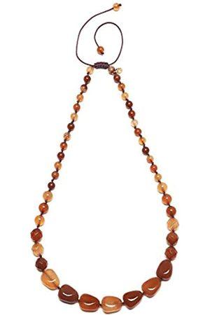 Lola Rose Luella Rust Montana Agate Necklace of 27cm