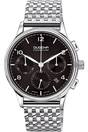 DUGENA Men's Premium Quartz Watch with Dial Chronograph Display and Stainless Steel Bracelet