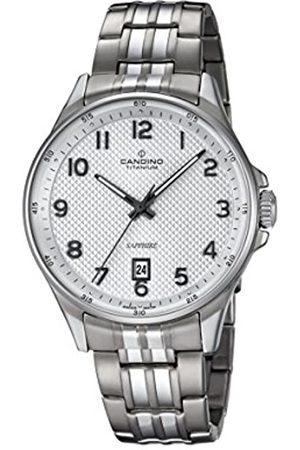 Candino Mens Analogue Classic Quartz Watch with Titanium Strap C4606/1