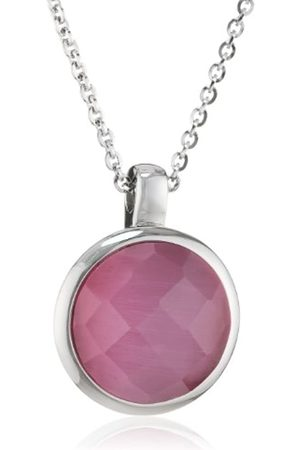 Mike Ellis S171 Women's Necklace Stainless Steel and Glass 42 cm