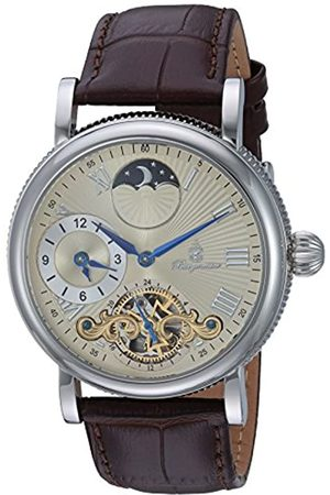 Burgmeister Men's Analogue Automatic Watch with Leather Strap BM226-175