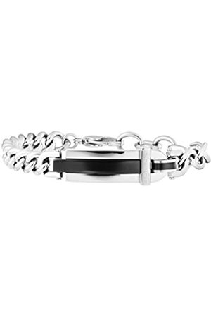 Police Men Stainless Steel Charm Bracelet - PJ25559BSB.01