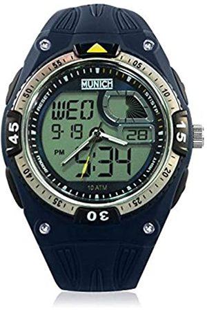 Munich Unisex Adult Digital Quartz Watch with PU Strap MU+117.2A