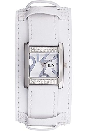 CLIPS Women's Quartz Watch 553-1007-11 with Leather Strap
