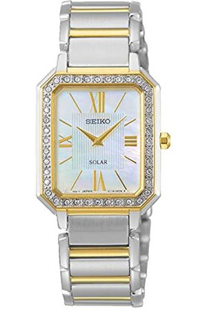Seiko Womens Analogue Quartz Watch with Stainless Steel Strap SUP428P1