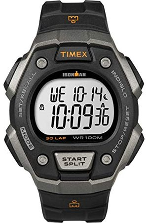 Timex Men Watches - Ironman Men's T5K821 Quartz Classic 30 Lap Watch with LCD Dial Digital Display and Resin Strap