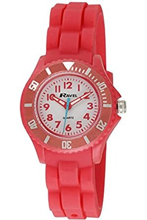 Ravel Children's Easy Read Quartz Watch with Dial Analogue Display and Silicone Strap R1802.10