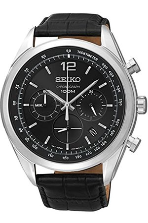 Seiko Ssb097p1 – Watch Men – Quartz – Chronograph – Dial – Leather Strap