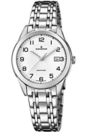 Candino Womens Analogue Classic Quartz Watch with Stainless Steel Strap C4615/1