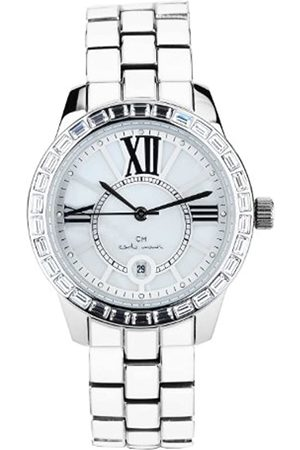 Carlo Monti Cosenza Women's Quartz Watch with Dial Analogue Display and Stainless Steel Bracelet CMZ01-181