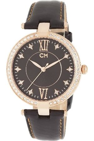 Carlo Monti CM506-322 Messina, Ladies watch, Analogue display, Quartz with Citizen Movement - Water resistant, Stylish leather strap
