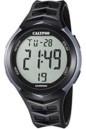 Calypso Mens Digital Quartz Watch with Plastic Strap K5730/1