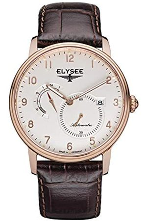 ELYSEE Unisex Adult Analogue Automatic Watch with Leather Strap 77017