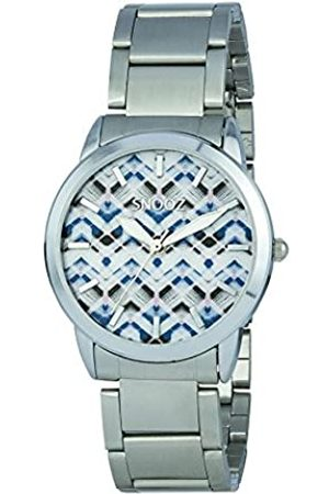 Snooz Women's Analogue Quartz Watch with Stainless Steel Strap Saa1038-74