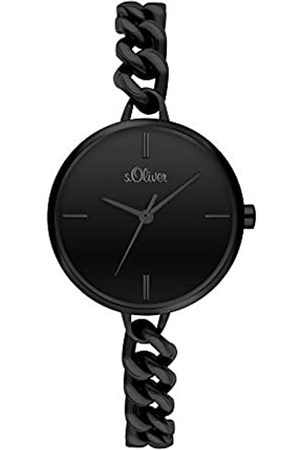 s.Oliver Quartz Watch with Stainless Steel Strap SO-3988-MQ