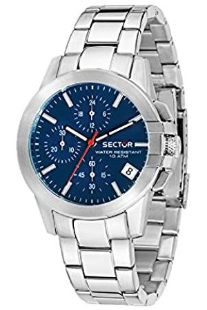 Sector Mens Chronograph Quartz Watch with Stainless Steel Strap R3273797503