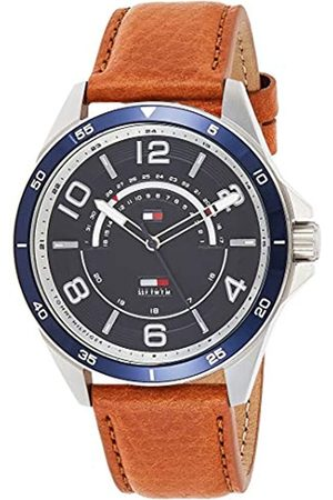 Tommy Hilfiger Mens Multi dial Quartz Watch with Leather Strap 1791391