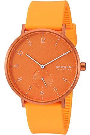 Skagen Unisex Adult Analogue Quartz Watch with Silicone Strap SKW6558